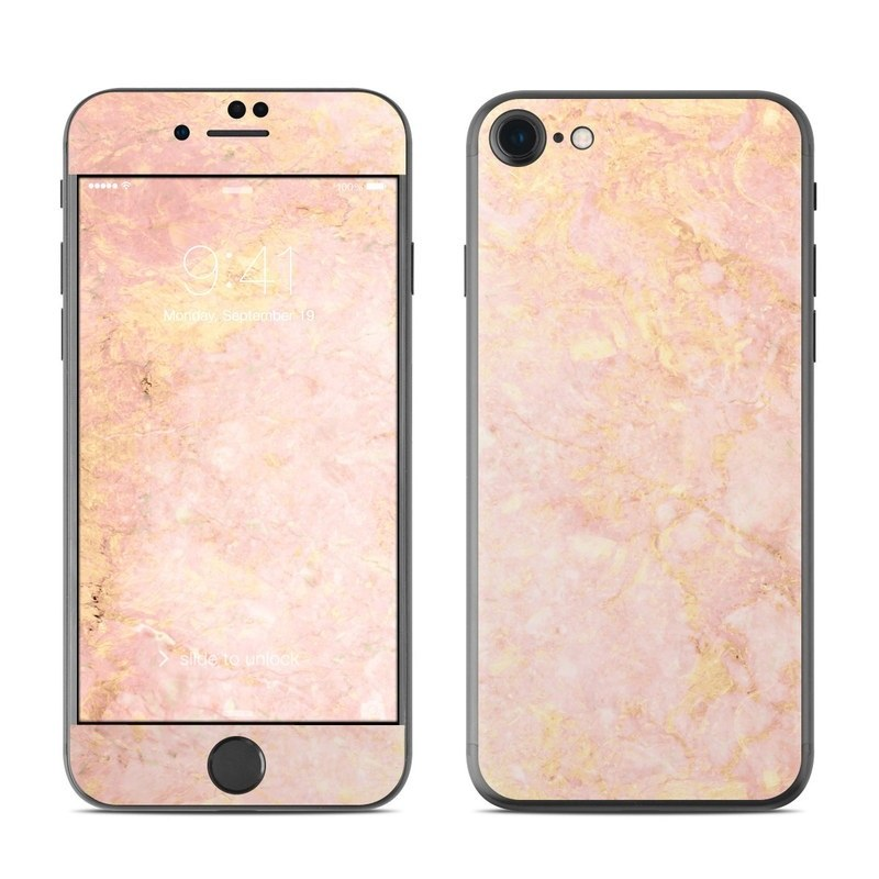new arrival 2b6b8 8f16d Rose Gold Marble iPhone 8 Skin