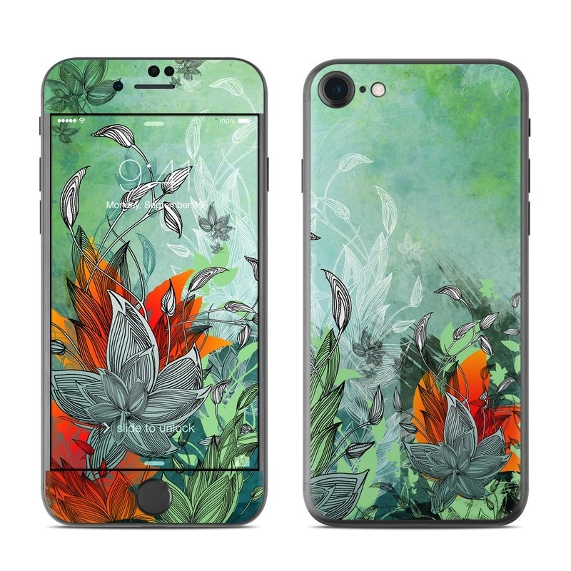 Sea Flora iPhone 8 Skin
