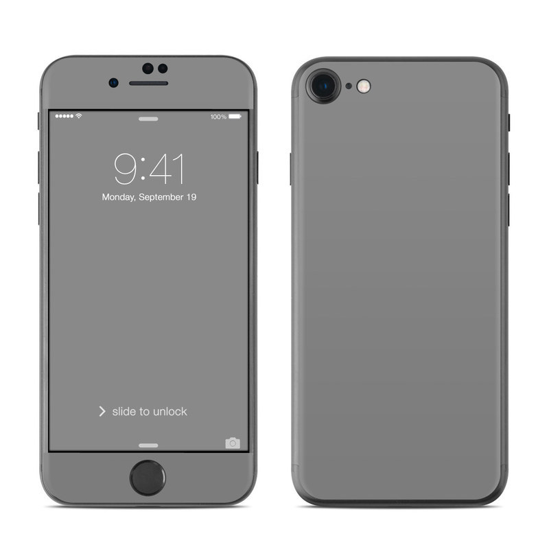 Solid State Grey iPhone 8 Skin