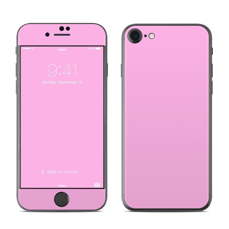 Solid State Pink iPhone 8 Skin