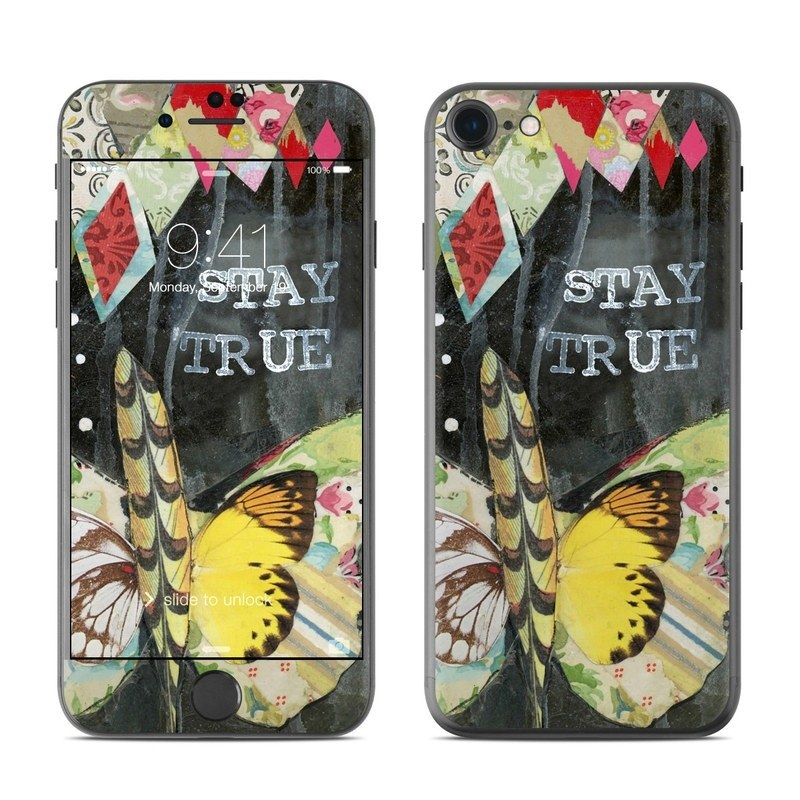 Stay True iPhone 8 Skin