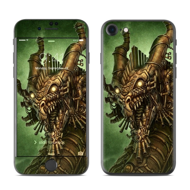 Steampunk Dragon iPhone 8 Skin