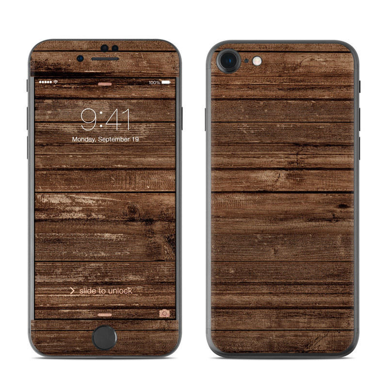 Stripped Wood iPhone 8 Skin