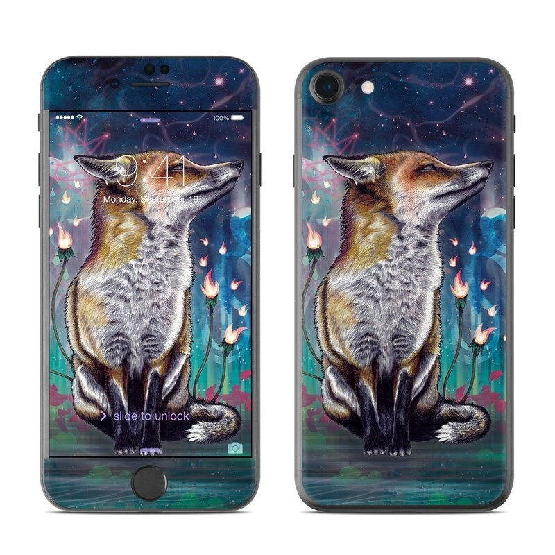 There is a Light iPhone 8 Skin