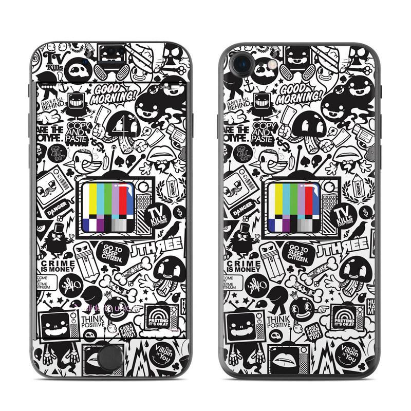 TV Kills Everything iPhone 8 Skin