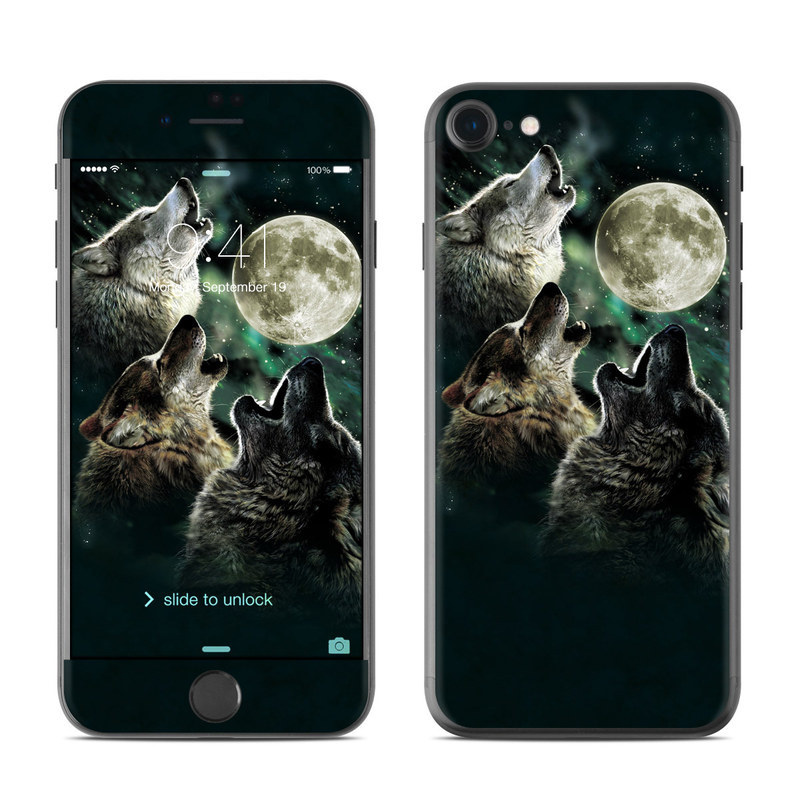 Three Wolf Moon iPhone 8 Skin