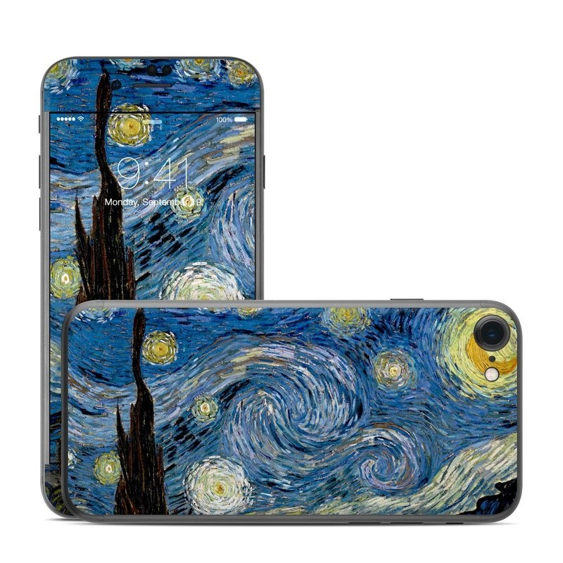 Starry Night iPhone 8 Skin