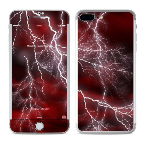 Apocalypse Red iPhone 8 Plus Skin