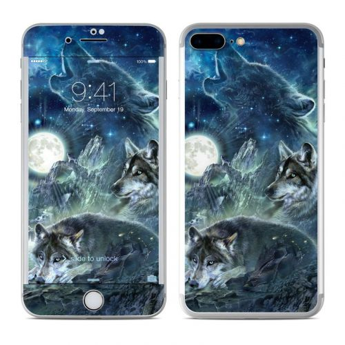 Bark At The Moon iPhone 8 Plus Skin