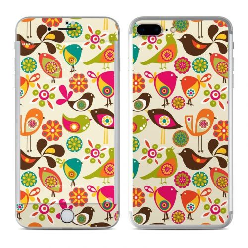 Bird Flowers iPhone 8 Plus Skin