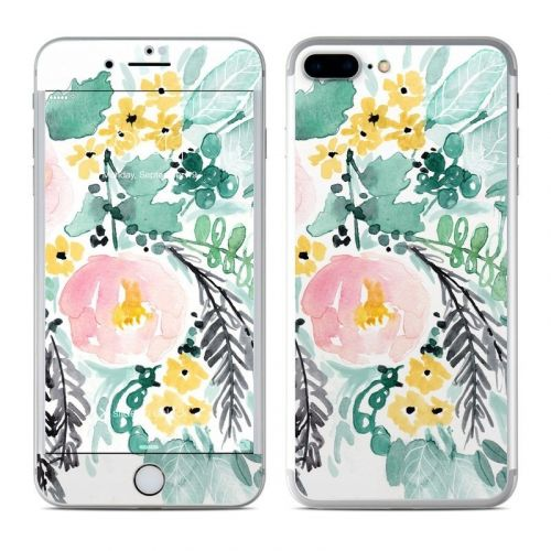 Blushed Flowers iPhone 8 Plus Skin