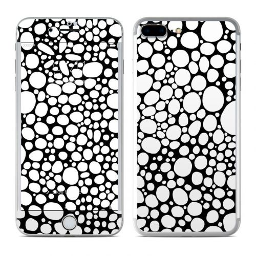 BW Bubbles iPhone 8 Plus Skin