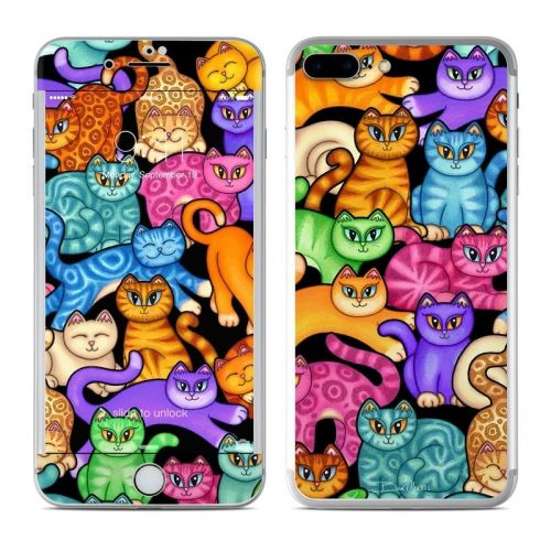 Colorful Kittens iPhone 8 Plus Skin