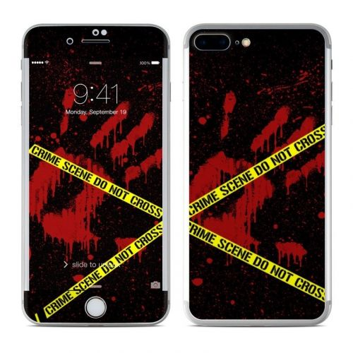 Crime Scene iPhone 8 Plus Skin