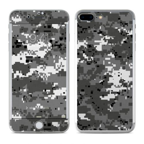Digital Urban Camo iPhone 8 Plus Skin