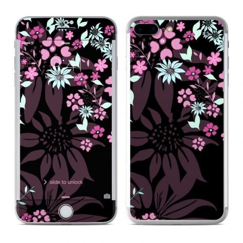 Dark Flowers iPhone 8 Plus Skin