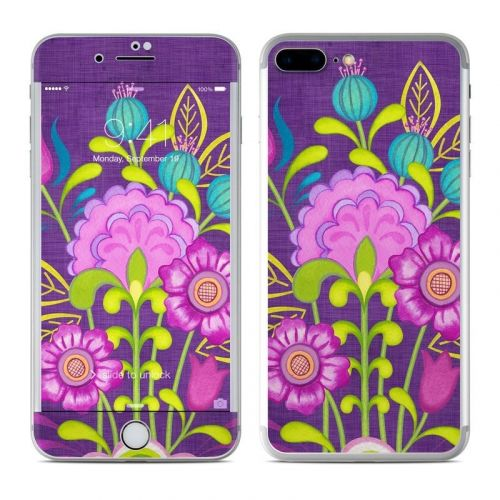 Floral Bouquet iPhone 8 Plus Skin
