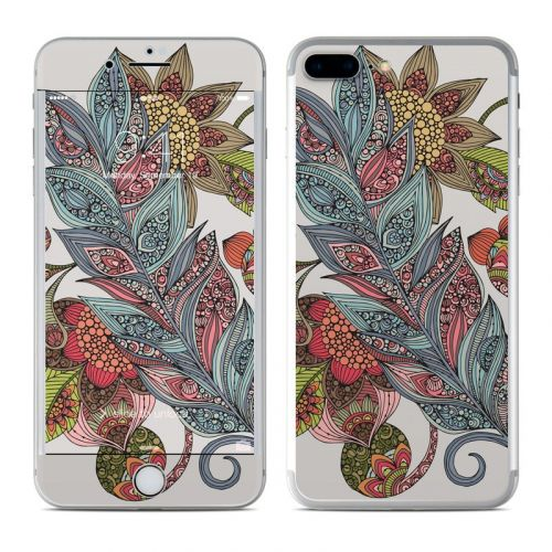 Feather Flower iPhone 8 Plus Skin