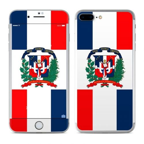 Dominican Republic Flag iPhone 8 Plus Skin