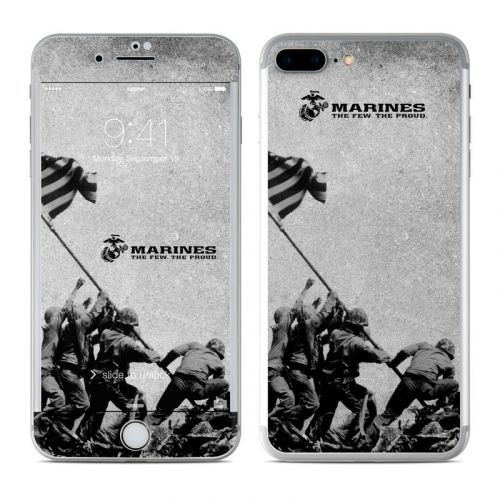 Flag Raise iPhone 8 Plus Skin