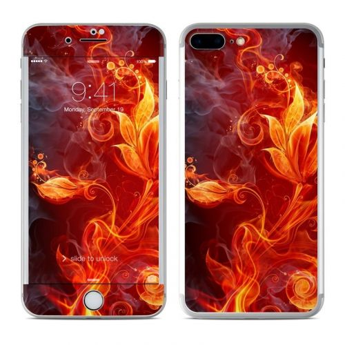 Flower Of Fire iPhone 8 Plus Skin