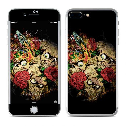 Gothic Tattoo iPhone 8 Plus Skin