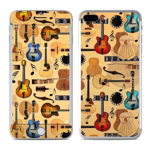 Guitar Collage iPhone 8 Plus Skin