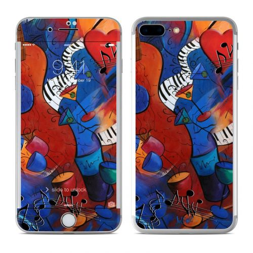 Guitar Music iPhone 8 Plus Skin
