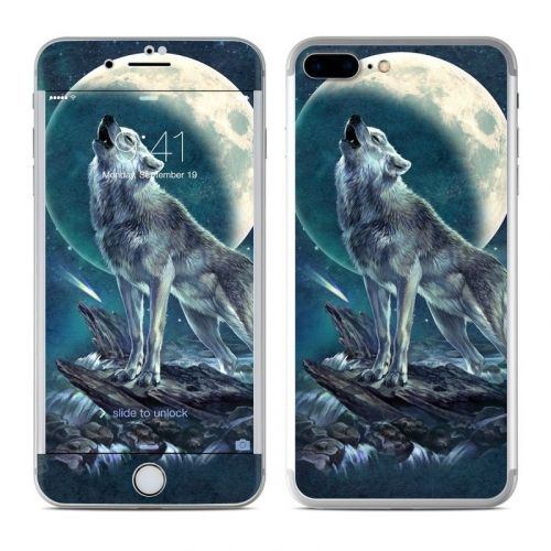 Howling Moon Soloist iPhone 8 Plus Skin