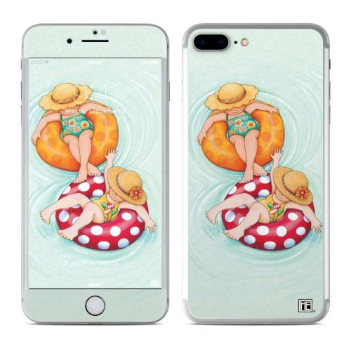 Inner Tube Girls iPhone 8 Plus Skin