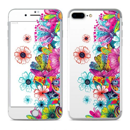 Intense Flowers iPhone 8 Plus Skin