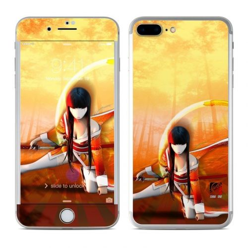 Kokeshi 4 iPhone 8 Plus Skin