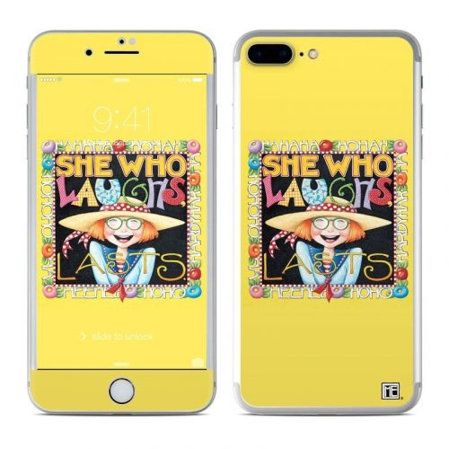 She Who Laughs iPhone 8 Plus Skin