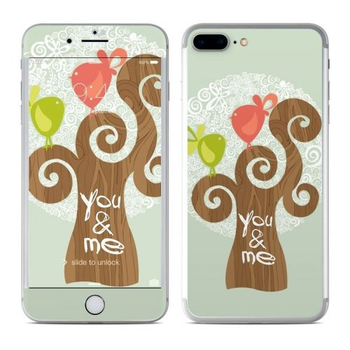 Two Little Birds iPhone 8 Plus Skin