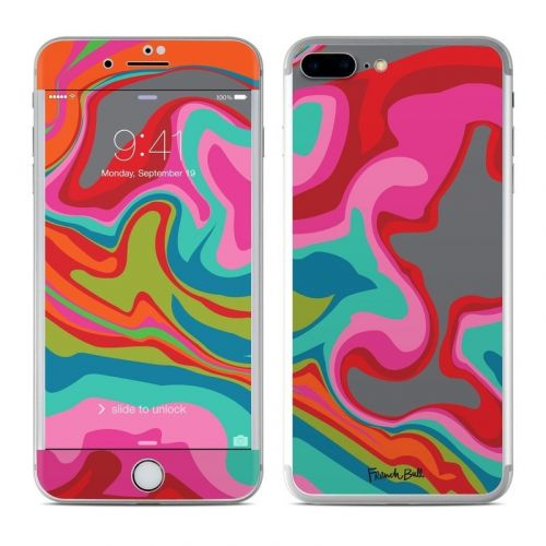 Marble Bright iPhone 8 Plus Skin