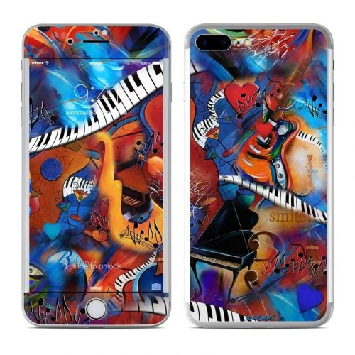 Music Madness iPhone 8 Plus Skin