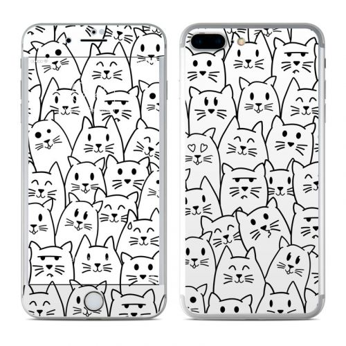 Moody Cats iPhone 8 Plus Skin