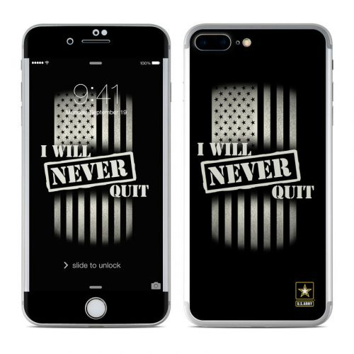 Never Quit iPhone 8 Plus Skin