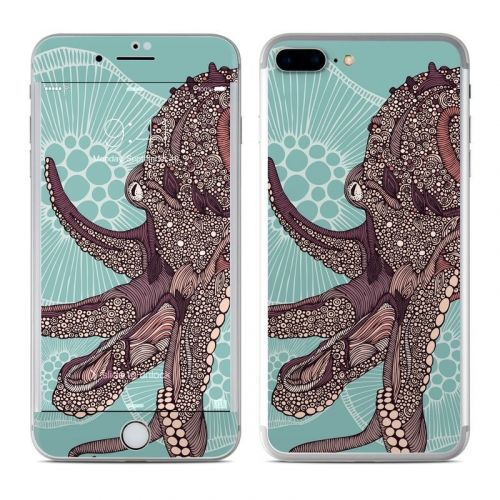 Octopus Bloom iPhone 8 Plus Skin