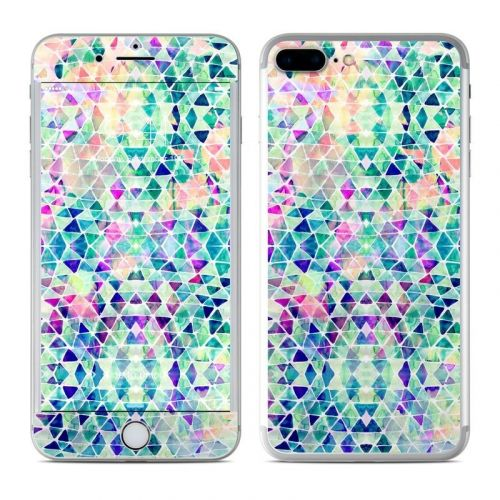Pastel Triangle iPhone 8 Plus Skin