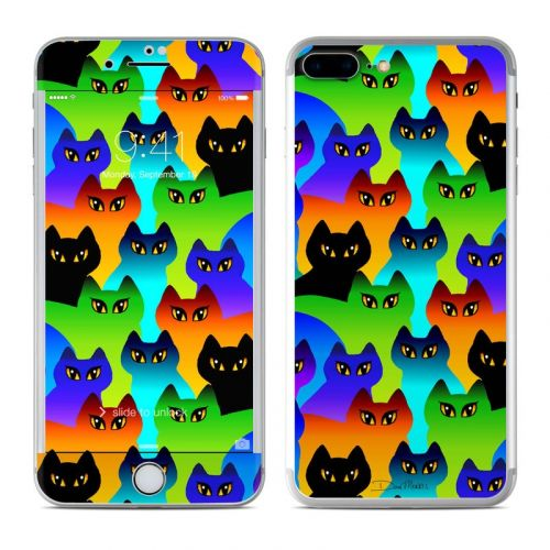 Rainbow Cats iPhone 8 Plus Skin