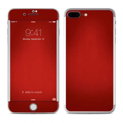 Red Burst iPhone 8 Plus Skin