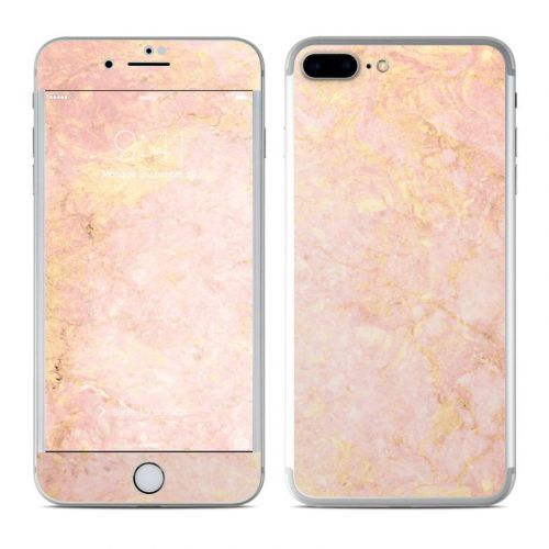 Rose Gold Marble iPhone 8 Plus Skin