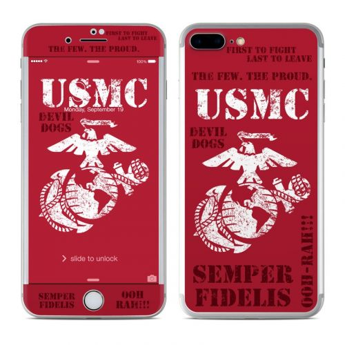 Semper Fi iPhone 8 Plus Skin