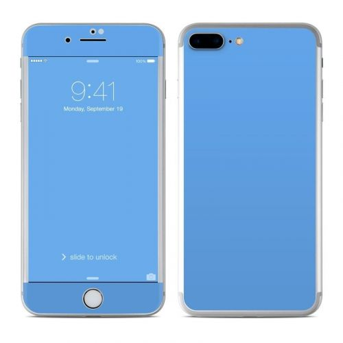 Solid State Blue iPhone 8 Plus Skin
