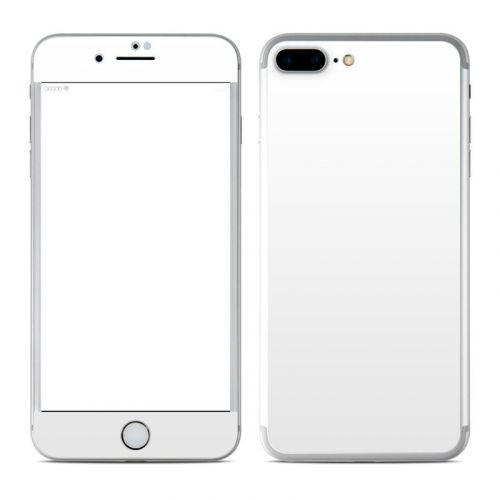 Solid State White iPhone 8 Plus Skin