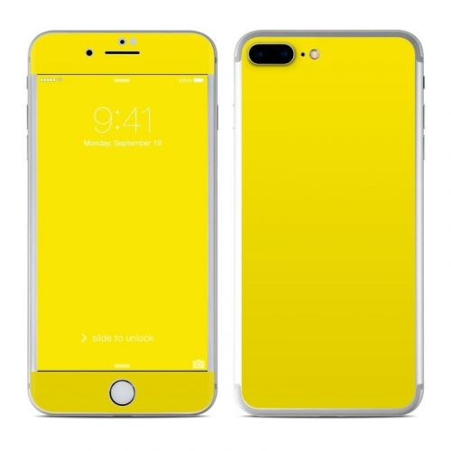 Solid State Yellow iPhone 8 Plus Skin