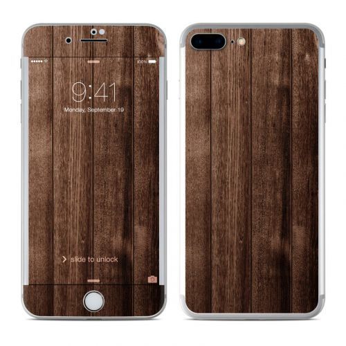 Stained Wood iPhone 8 Plus Skin