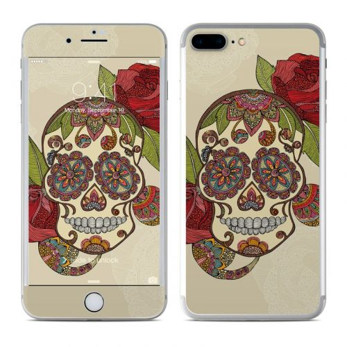 Sugar Skull iPhone 8 Plus Skin