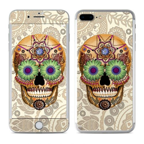 Sugar Skull Bone iPhone 8 Plus Skin